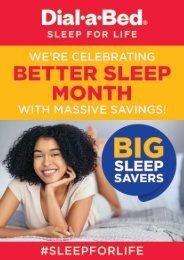 Better Sleep Month - Clickable Catalogue