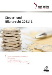 beck-online Steuerrecht