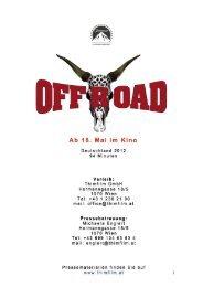 Offroad – Presseheft - Thimfilm