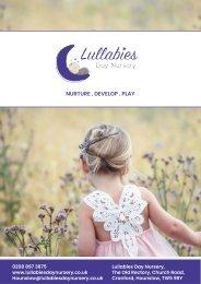 Lullabies brochure