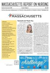 Massachusetts Report on Nursing - May 2021