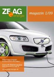 magazin 1/09 - ZEAG Energie AG