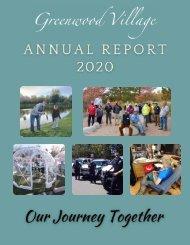 Greenwood Village Annual Report 2020