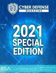 Cyber Defense Magazine Special Annual Edition for RSA Conference 2021