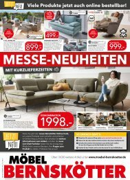 Möbel Bernskötter Prospekt (KW20)