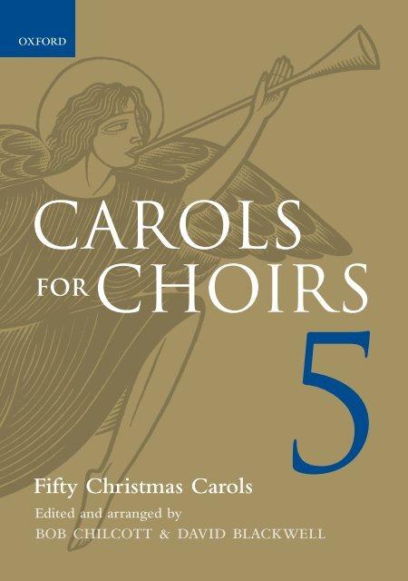 Carols for Choirs 5