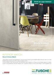 EGGER PRO Fußboden Kollektion 2021+
