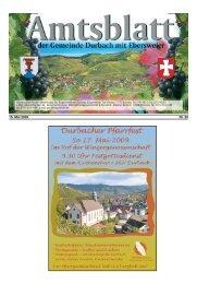 am Hexenbrunnen Mittwoch: Ab 17.00 Uhr - Durbach