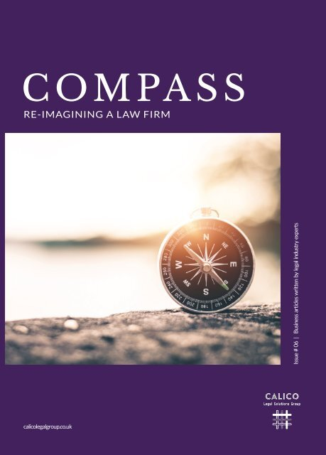 Calico Compass - Re-imagining a law firm
