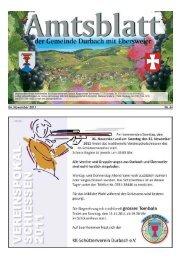 04. November 2011 Nr. 44 - Durbach
