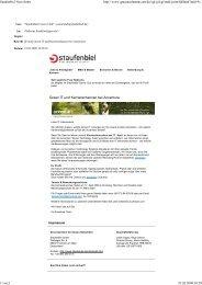 Staufenbiel Newsletter - Staufenbiel.de