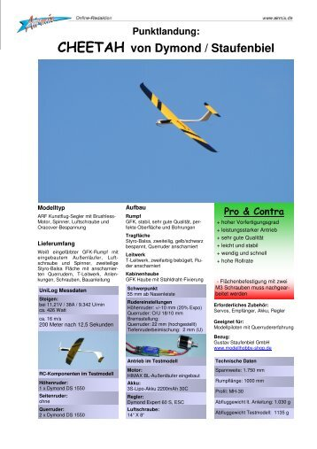 CHEETAH von Dymond / Staufenbiel - Airmix