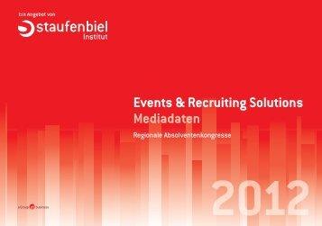 Events & Recruiting Solutions Mediadaten - wiwex