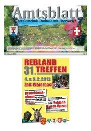 03. Februar 2012 Nr. 5 - Durbach