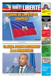 Haiti Liberte 19 Mai 2021