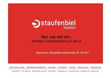 Anschreiben - Staufenbiel.de