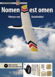 Vitesse von Staufenbiel Video zum Test unter www.fmt-rc.de