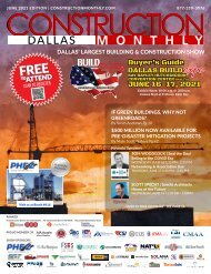 Construction Monthly Magazine | Dallas 2021 Build Expo Show Edition