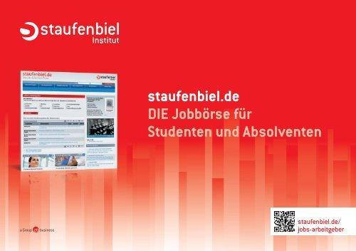 staufenbiel.de DIE Jobbörse für Studenten und Absolventen