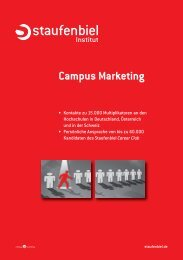 Campus Marketing - Staufenbiel.de