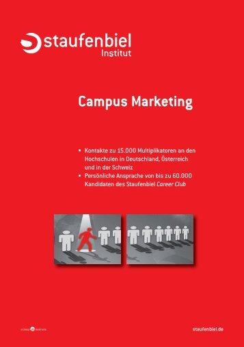 Campus Marketing - Staufenbiel.de