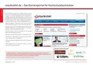 staufenbiel.de – Das Karriereportal für Hochschulabsolventen
