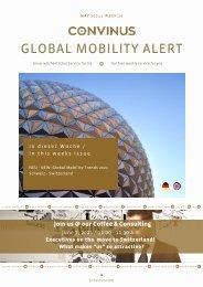 CONVINUS Global Mobility Alert Week 20
