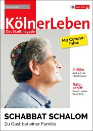 KölnerLeben Juni/Juli 2021