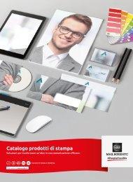 Catalogo prodotti di stampa