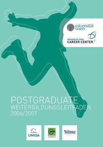 POSTGRADUATE - MBA