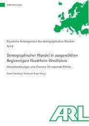 Folgen des demographischen Wandels in Nordrhein - SSOAR