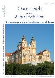 Österreich - mein Sehnsuchtsland Heft Mai/Juni 2021