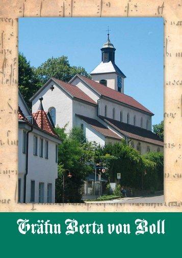 """zum PDF """"Flyer Gräfin Berta von Boll - Gemeinde Bad Boll"""