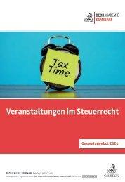 Steuerrecht 2021