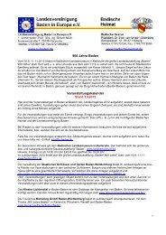 Veranstaltungskalender 120903 - Landesvereinigung Baden in ...