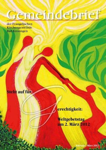 März 2012 - Evangelische Kirchengemeinde Bad Krozingen