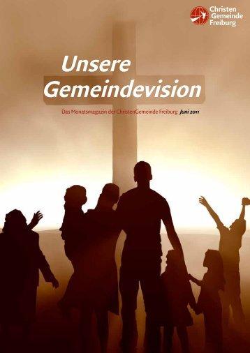 Unsere Gemeindevision - Christengemeinde
