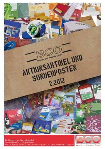 Sonderposten - BCO Import- und Handels GmbH
