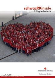 Mitgliederzeitung Rotes Kreuz Schwaz 2016 Ausgabe 1