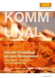 Kommunaltechnik | Max Urech AG