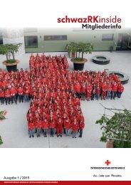 Mitgliederzeitung Rotes Kreuz Schwaz 2015 Ausgabe 1