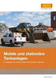 Mobile und stationäre Tankanlagen | Max Urech AG