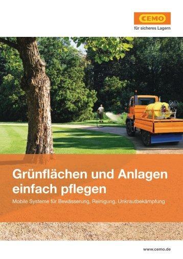 Grünanlagen und Anlagen einfach pflegen | Max Urech AG