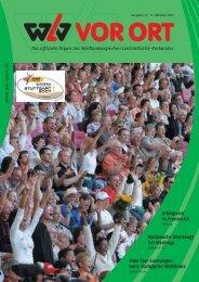Ausgabe 19 - Württembergischer Leichtathletikverband