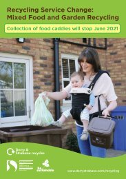 Mixed Food and Garden Waste Recycling Guide