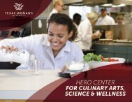 Hero Center for Culinary Arts, Science & Wellness