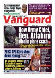 22052021 - How Army Chief Gen. Attahiru died in plane crash