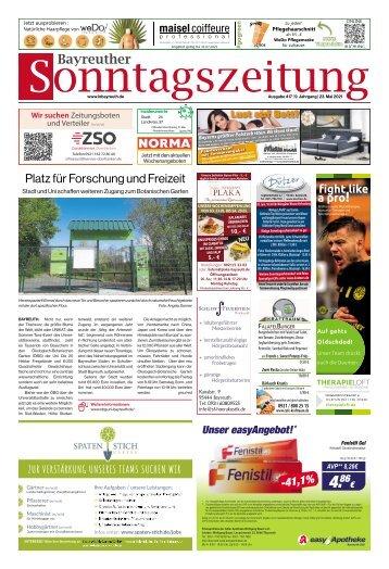 2021-05-23 Bayreuther Sonntagszeitung