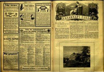 Vasárnapi Ujság 1885. 32. évf. 48. sz. november - EPA