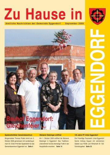 Bauhof Eggendorf: Gleichenfeier Seite 6 - Gemeinde Eggendorf